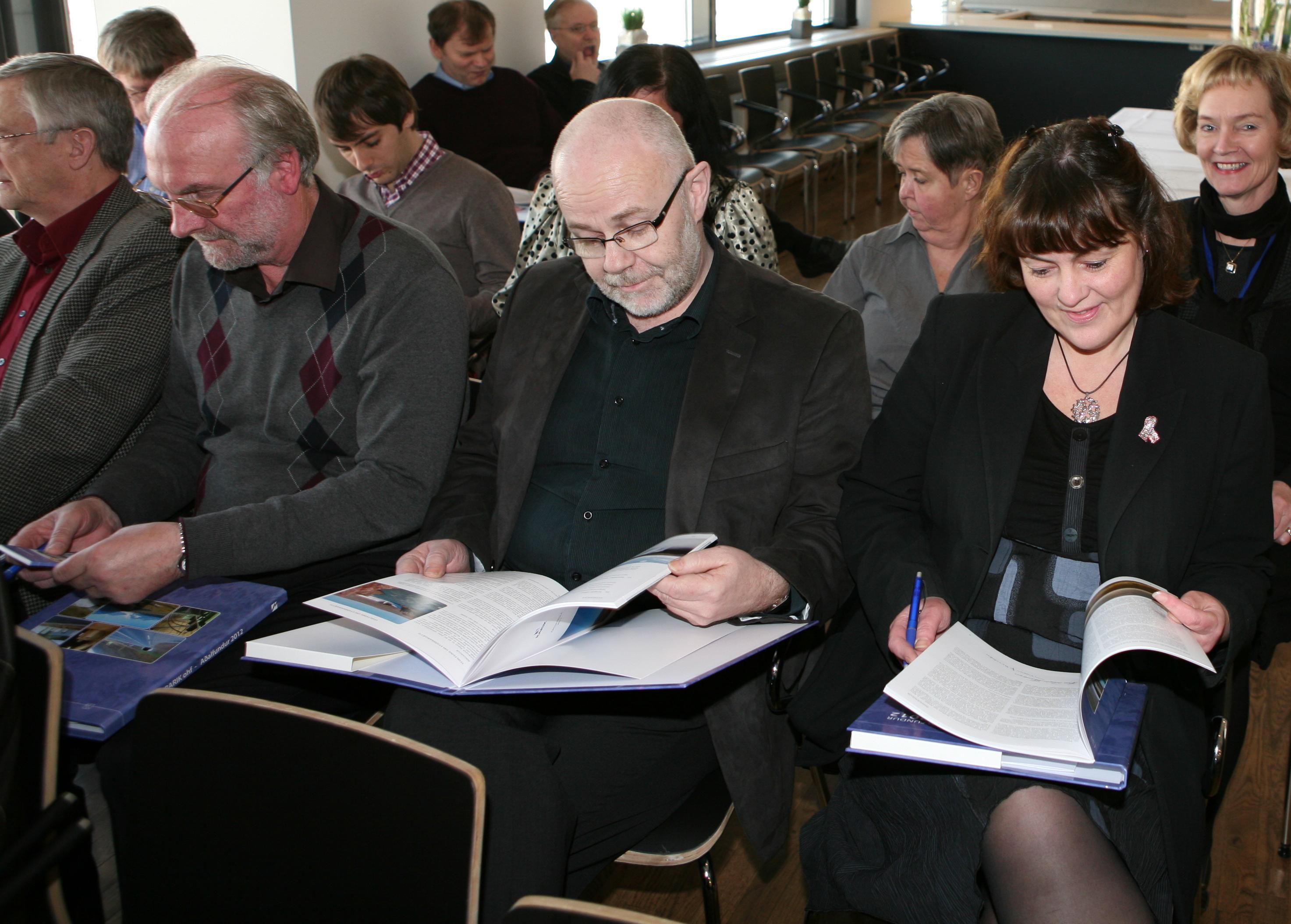 Frá aðalfundi 2012