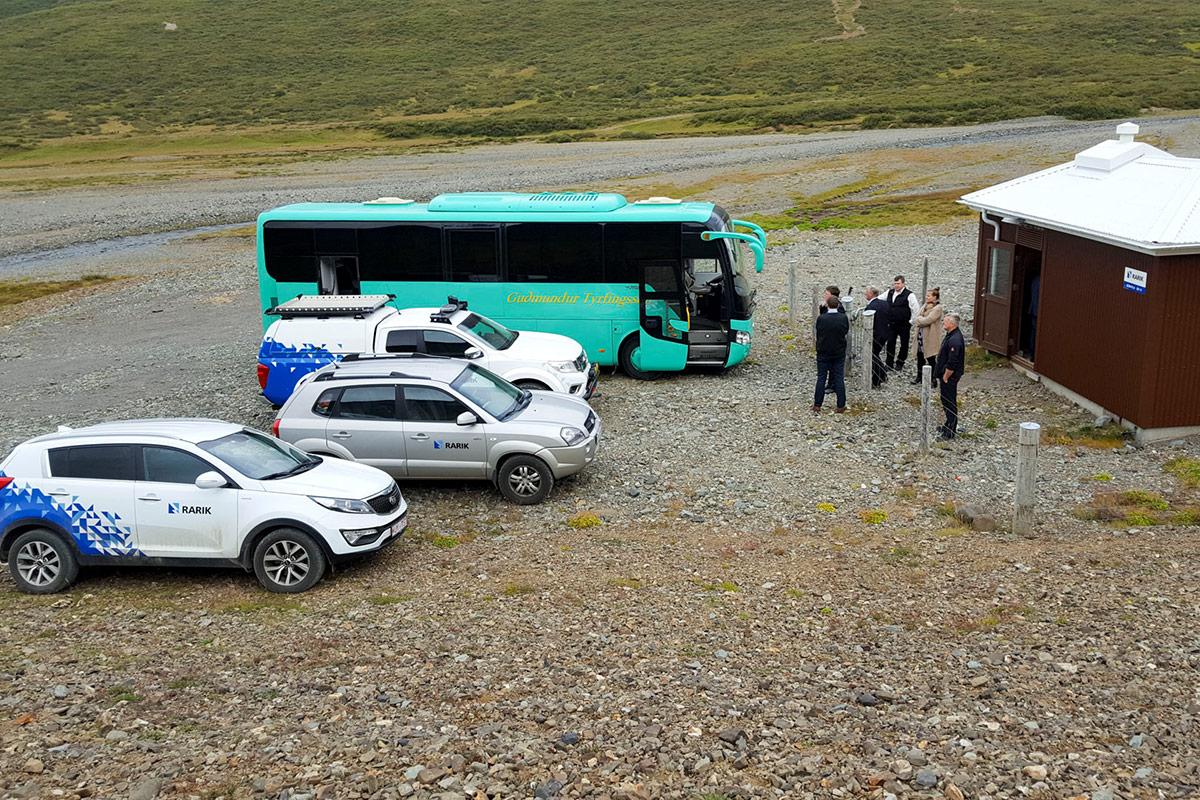 Dælustöð hitaveitunnar í Reykjadal
