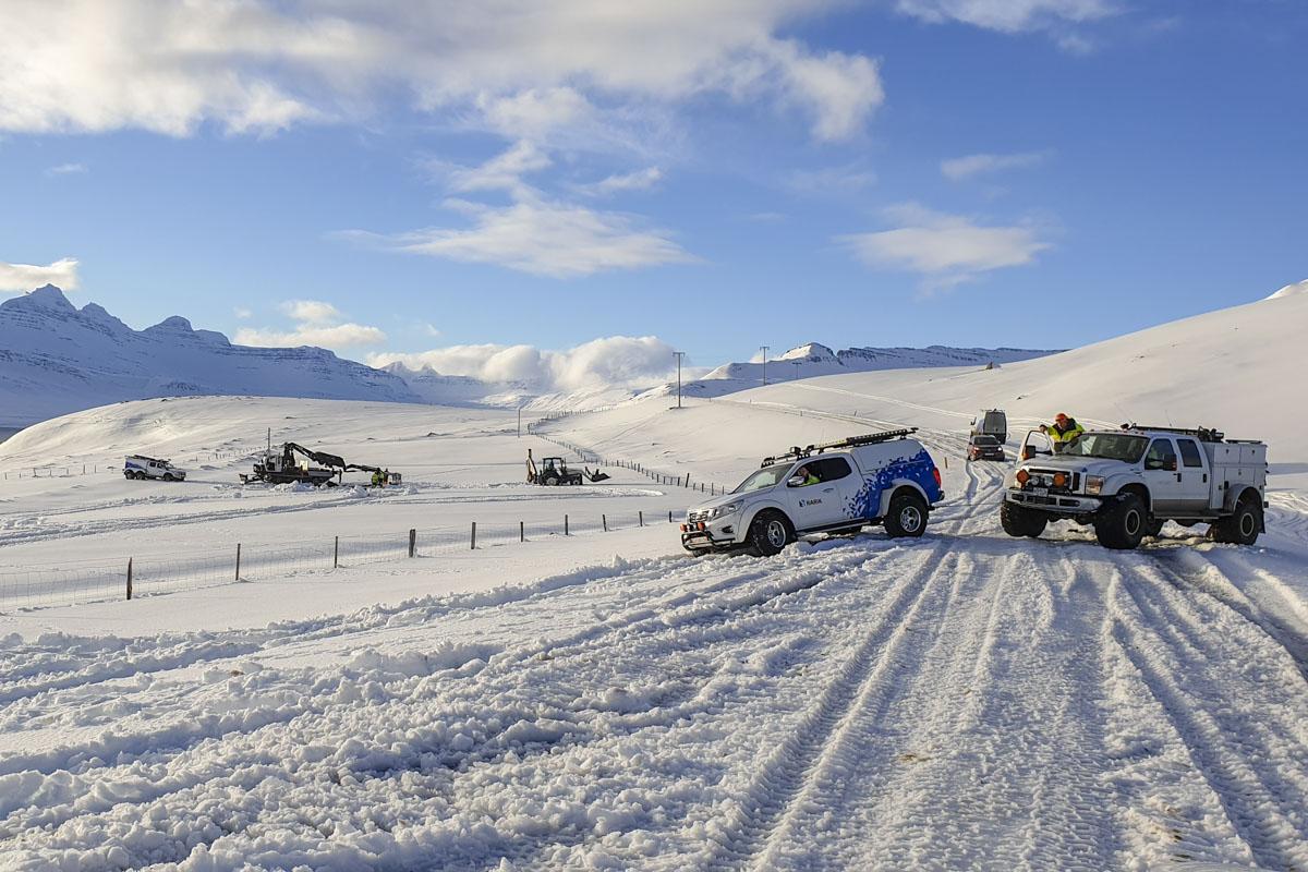Viðgerð á Beruneslínu