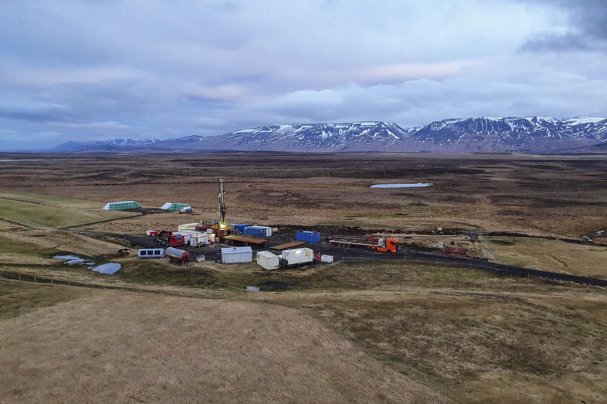 Fjórða vinnsluholan á Reykjum