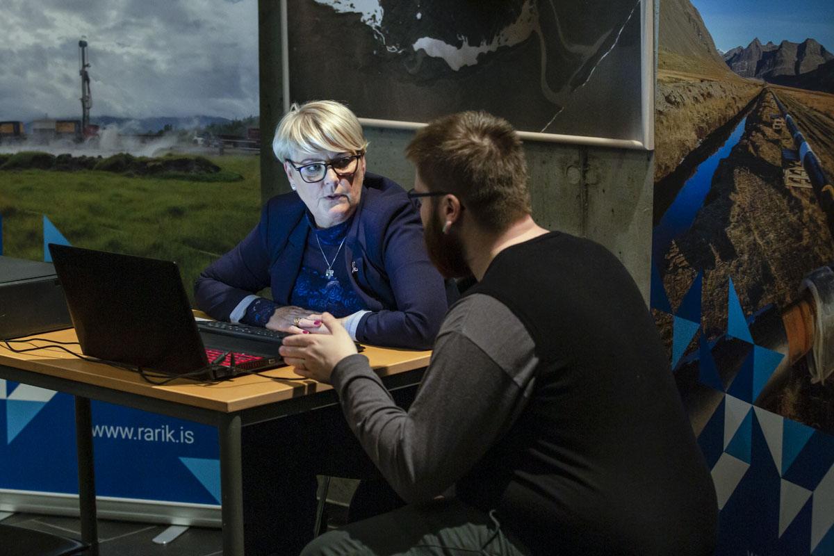 Ráðgjöf á íbúafundi