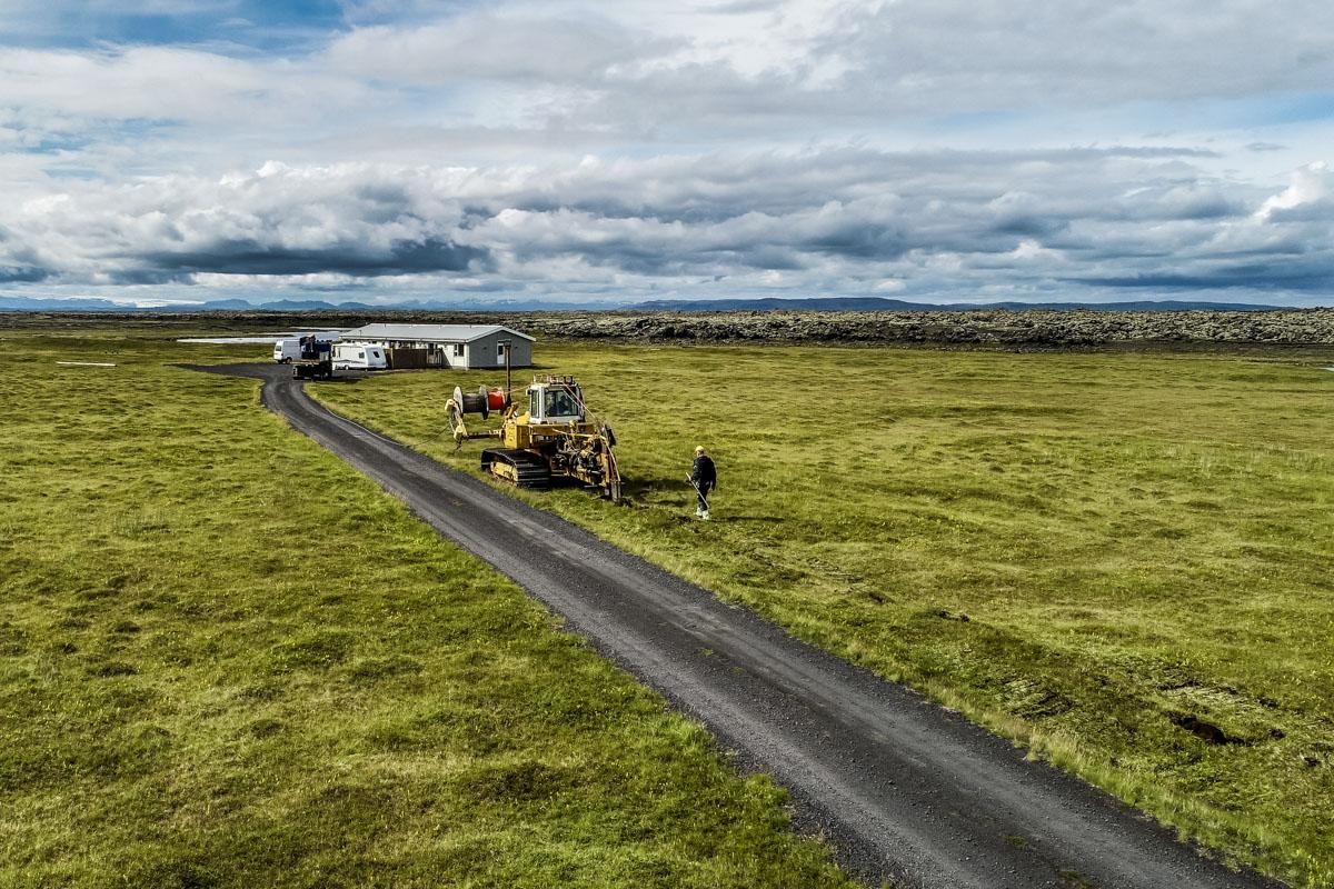 43 km jarðstrengur í Meðallandi