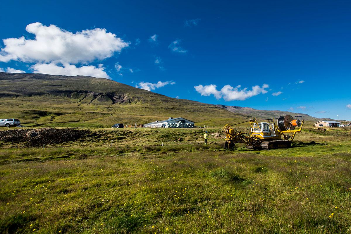 Strenglagnir á Norðurlandi í fullum gangi