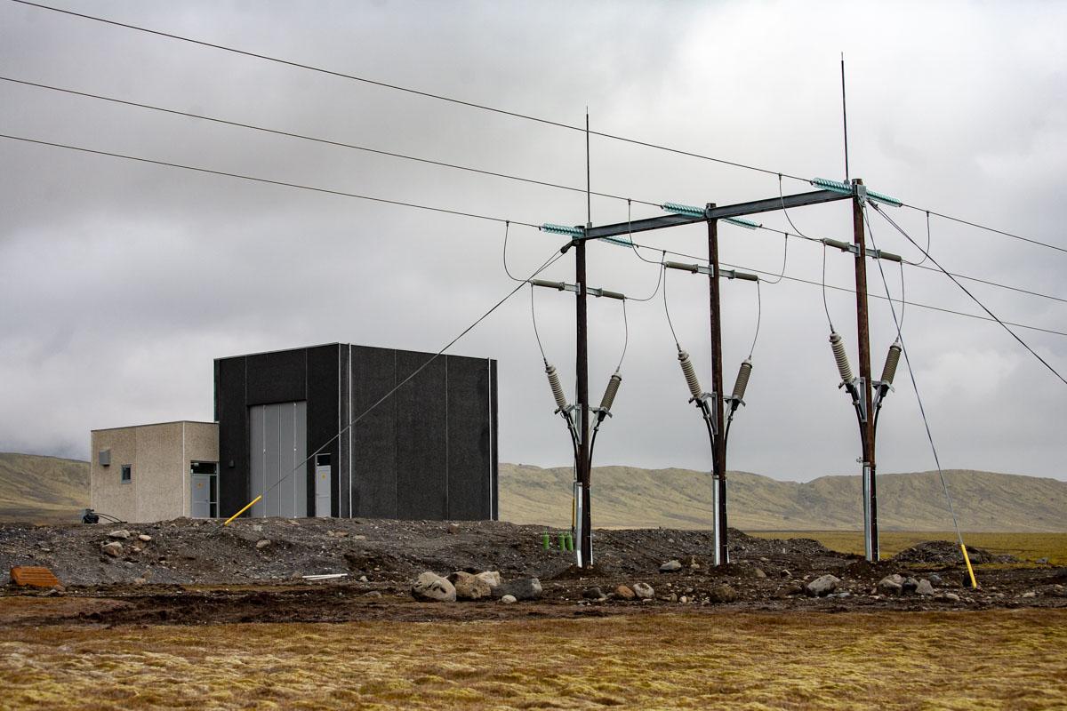 Aðveitustöð RARIK að Hnappavöllum í Öræfasveit